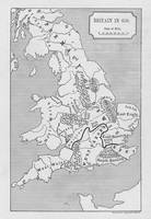 Map of Britain in 658