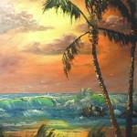 """Tropical Wave Painting"" by mazz"