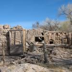 """adobe ruins Abiquiu, new mexico"" by giamarie"