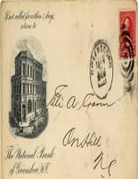 The National Bank of Greensboro Postcard