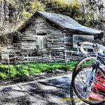 """Two Bikes and An Old Shack"" by newdigitalscapes"