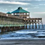 """Dynamic Folly Beach Pier"" by kentsphotocorner"