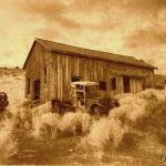 """Ghost Town Berlin , Nevada sepia"" by JewelsOfDenile"
