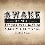"""Awake My Soul (Sepia)"" by madebyelle"