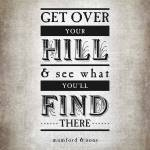 """Get Over Your Hill (Gray)"" by madebyelle"