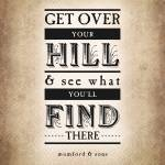 """Get Over Your Hill (Sepia)"" by madebyelle"