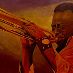 """Miles Davis"" by anthonydunphy"