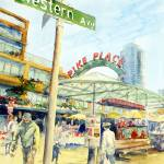 """Pike Place Market"" by ShaSha"