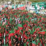 """Supporters of PTI at a rally in Karachi, Pakistan"" by GrayScale"