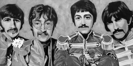 Sgt. Peppers Black and White