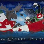"""Team Canada Road trip"" by rotenbergposters"