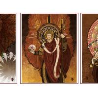 The Archangels Art Prints & Posters by Lawrence Klimecki