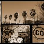 """Oil Sign Retirement"" by bettynorthcutt"