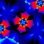 """Floral Fractal Fantasy 2"" by Chicagoartist1"