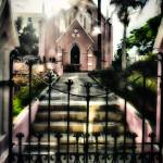 """Bermuda church"" by dennisherzog"