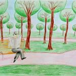 """Summer park"" by Solomiya"