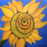 """sunflower"" by traciebrownart"