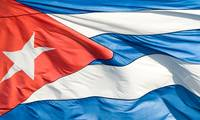 The Cuban flag