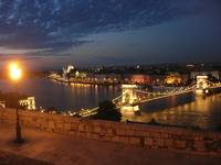 Enchanted evening in Budapest