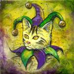 """Jester Kitty by GG Burns"" by ggsfunctionalart"