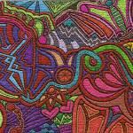 """Mosaic Busy"" by SoniaPatti"
