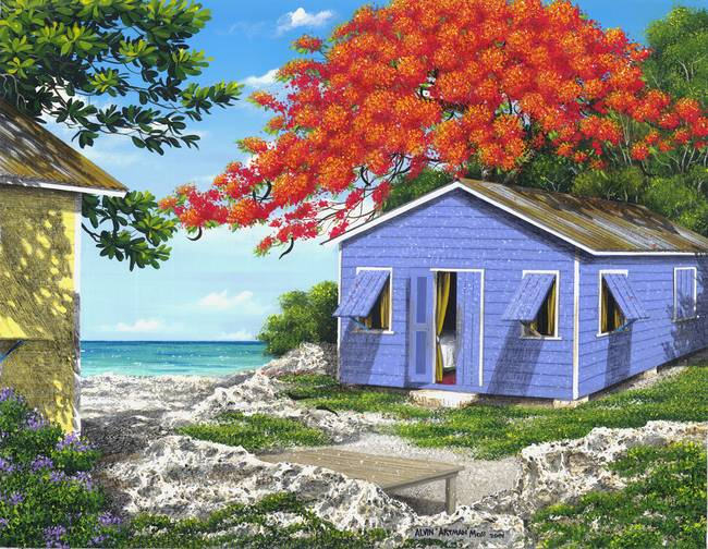 Stunning beach house art artwork for sale on fine art prints for Beach house prints