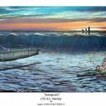 """H.L. Hunley ""Juxtaposés"" Limited Print"" by cyber_highwaymen"
