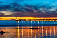 Bacara (Haskell's ) Beach and pier, Santa Barbara