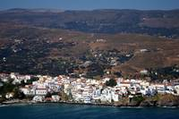 View of Andros town