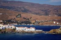 The town of Andros