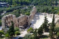 The theater of Herod Atticus