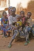 Harem wives 3 and 4 with kids (The Gambia)