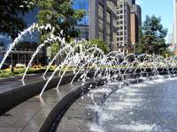 Columbus Circle Fountains