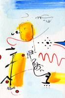 Intuitive Abstract Jan 21 2012 Watercolor and Ink