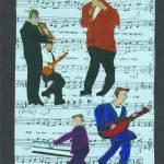 """musiconmusic"" by ARTCREATIONSBYOLGA"