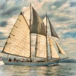 """Schooner 101a"" by rdwittle"