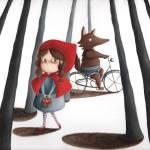 """little red riding hood"" by AriannaUsai"