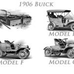 """1906 Buick Poster"" by JeffTimmons"