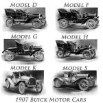"""1907 Buick Motor Cars"" by JeffTimmons"
