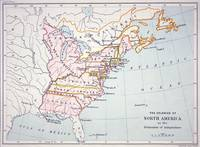 Map of the Colonies of North America