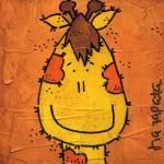 """Edu The Giraffe"" by isazapata"