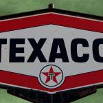 """Vintage Texaco Sign"" by bettynorthcutt"