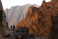 Morning Descent from Mount Sinai