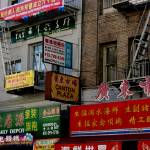 """""""Brightly painted Shop signs"""" by JewelsOfDenile"""
