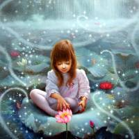 Seven Girls And Fairies 3 Art Prints & Posters by Yoo Choong Yeul
