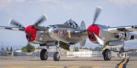 Honey Bunny P-38 Lightning
