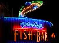 Fish Bar Neon Sign