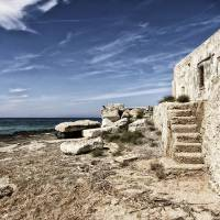 steps by the sea Art Prints & Posters by dario sartini