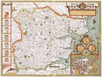 Essex, engraved by Jodocus Hondius