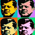 """John F Kennedy - Pop Art Poster Print"" by Art-America"